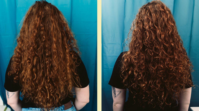 Vorher/Nachher im Vergleich