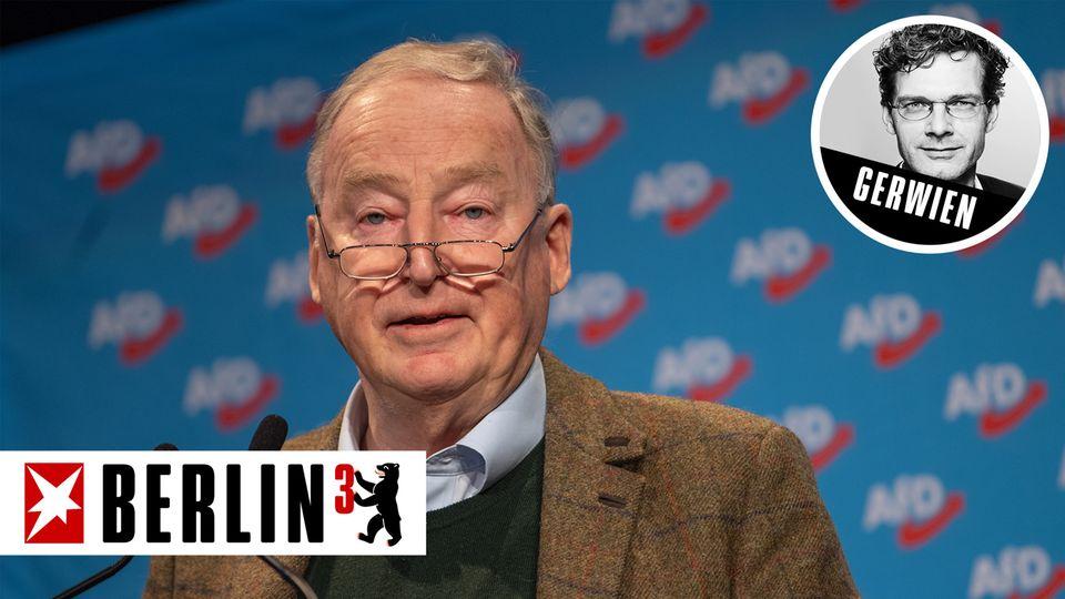 Berlin hoch 3 - Alexander Gauland bändigt noch die AfD