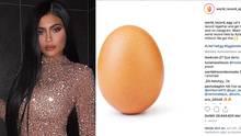 Dieses Ei sammelt mehr Likes als Kylie Jenner – die reagiert prompt
