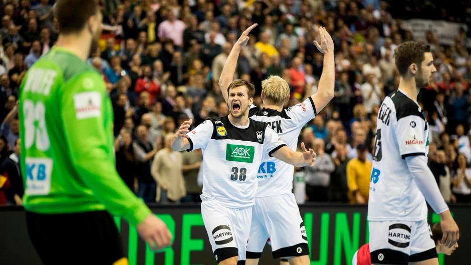 handball wm 2019 - deutschland - hauptrunde - halbfinale