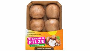 Vitamin D Pilze