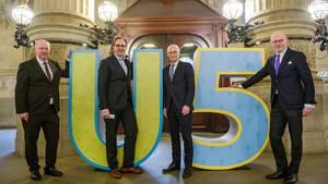 Hochbahn Hamburg: U5 wird vorgestellt