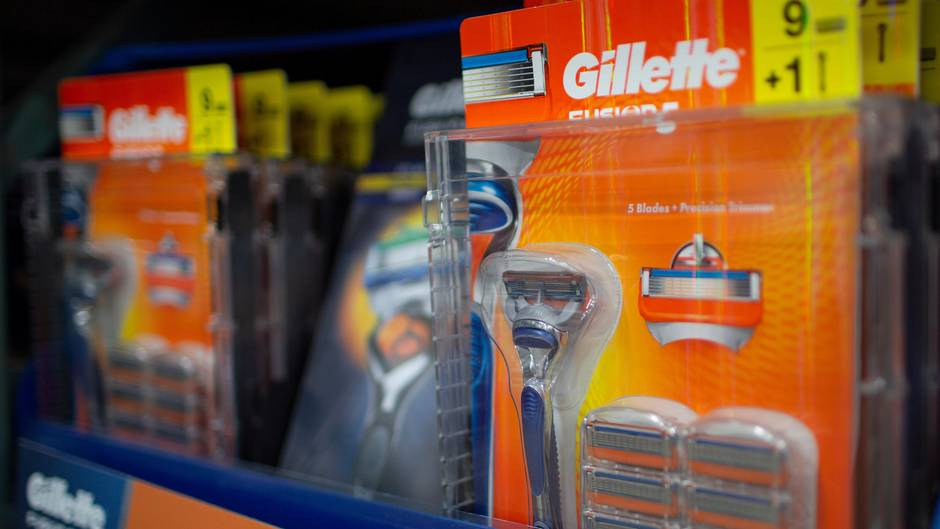 Gillette Rasierer Webespot