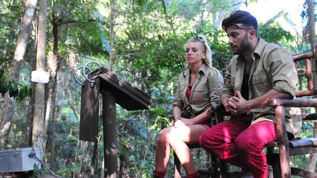 Dschungelcamp-Bewohner Evelyn und Domenico