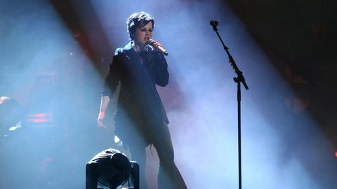 Dolores O'Riordan von den Cranberries bei einem Auftritt 2011