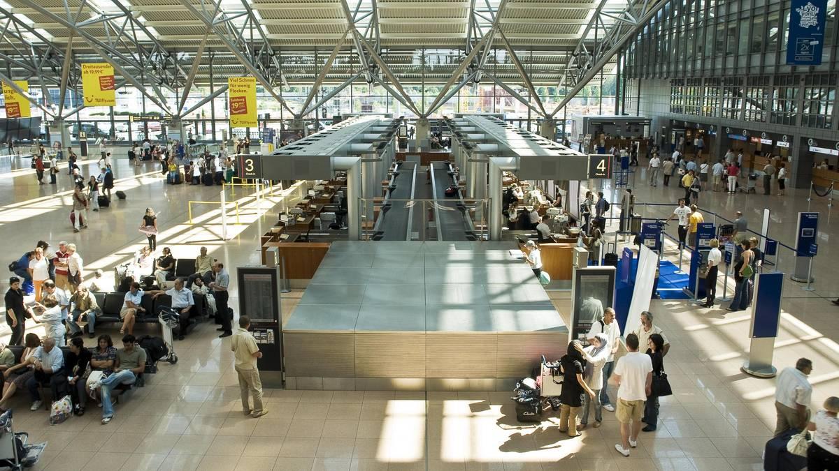 News aus Hamburg: Nach Warnstreik: Flugbetrieb am Hamburger Flughafen läuft wieder
