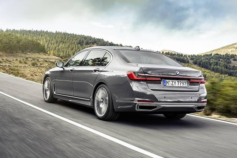 BMW 7er Jahrgang 2019 - auch hinten wurde nachgeschärft