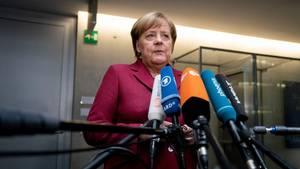 Bundeskanzlerin Merkel äußert sich nach Scheitern des Brexit-Abkommens