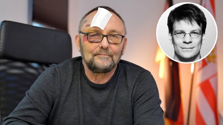 Gewalttat in Bremen: Angriff auf AfD-Politiker: Das bedeutet das Attenat für Frank Magnitz' politische Karriere