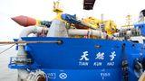 Chinas Belt-Initiativen werden dazu führen, dass die Baggerflotte noch weiter wachsen wird.