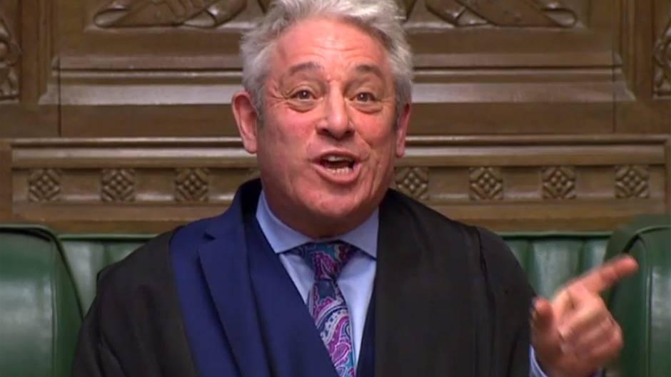 Britisches Unterhaus: Theresa Mays Niederlage war die Sternstunde dieses Mannes