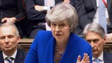 May machte nach ihrem Sieg sogleich Gesprächsangebote an die Liberalen undschottische SNP