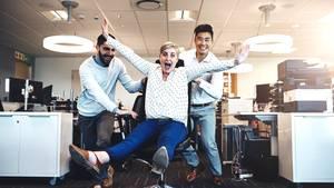 Arbeit: Spaß im Büro