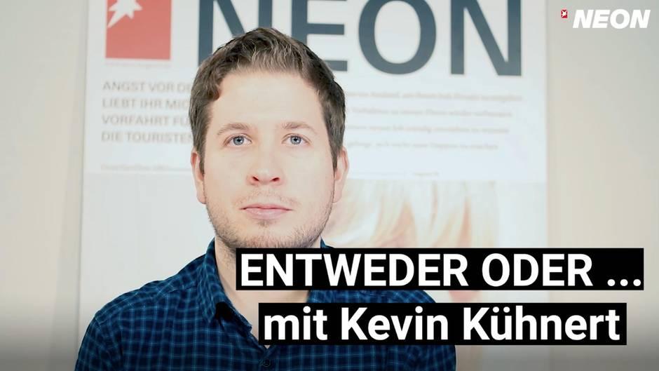 Kevin Kühnert im Interview mit NEON