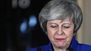 Theresa May fährt wegen Brexit-Chaos nicht zum Weltwirtschaftsforum nach Davos