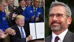 """Steve Carell kehrt mit einer Satire zu Trumps """"Space Force"""" zurück"""