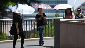 Hitzewelle in Australien lässt Asphalt schmelzen