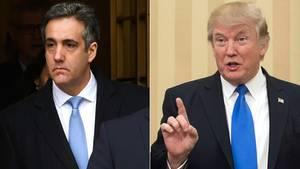 Donald Trump soll seinen Ex-Anwalt aufgefordert haben, den US-Kongress zu belügen