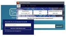 Verschiedene Internetseiten gleichen die Mailadressen mit Datenbanken gehackter Accounts ab.