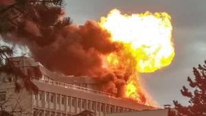 Lyon: Gewaltige Explosion erschüttert Universität