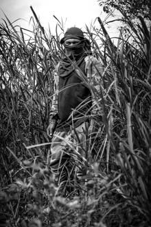 Eddy, Krieger und Jäger der Shuar aus Tsuntsuim, Ehemann von Maribel