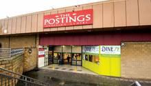 """Einst für stolze 4,25 Millionen Pfund gebaut, steh das Shopping Center """"The Postings"""" heuteweitgehend leer"""