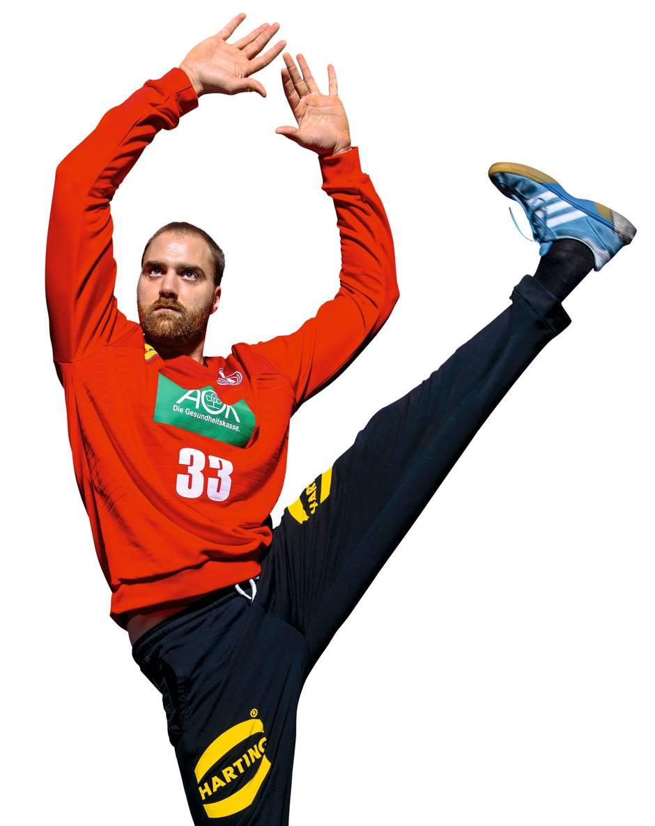 Torwart Andreas Wolff Handball-Weltmeister werden
