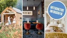 """Ranking von """"Geo Saison"""": Das sind die schönsten Hotels Europas 2019"""