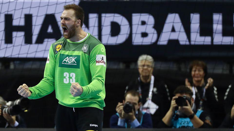 Andreas Wolff - Torhüter der Handball Nationalmannschaft