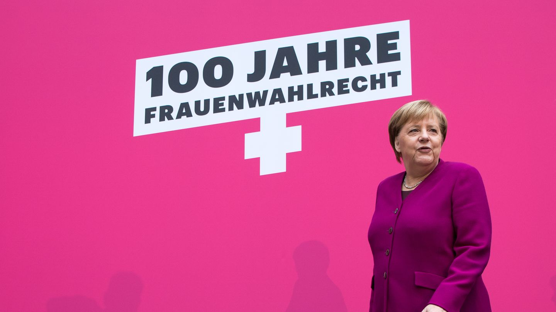 Frauenwahlrecht Angela Merkel