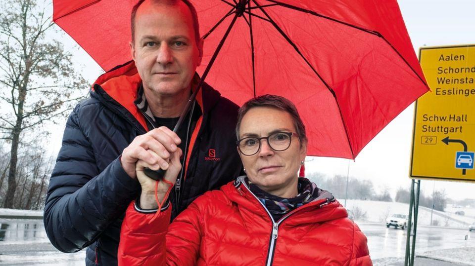 Bernd und Lene Entenmann wollen trotz allem weiter Diesel fahren