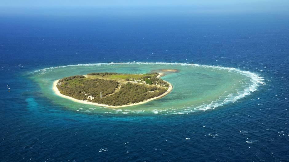 Von hier aus erstreckt sich das größte Korallenriff der Erde über 2300 Kilometer nach Norden