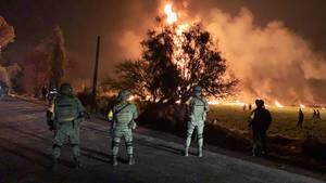 21 Menschen sind bei der Explosion verbrannt