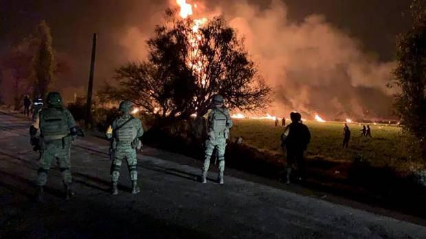 Opferzahl nach Pipeline-Brand in Mexiko steigt auf mehr als 60