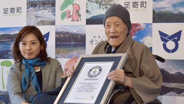 Ältester Mann der Welt mit 113 Jahren gestorben