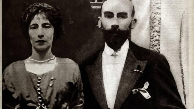 Landru und seine Geliebte Fernande Segret