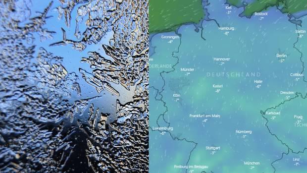 Vorsicht, frostig: Live-Karte zeigt, wo das eisige Winterwetter in Deutschland zuschlägt