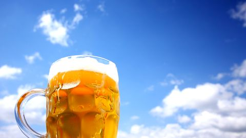 Bier im Sommer