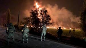 Benzinleitung in Mexiko explodiert: Zahl der Toten steigt auf über 70