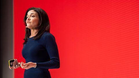 Facebook-Vize-Chef Sheryl Sandberg in München