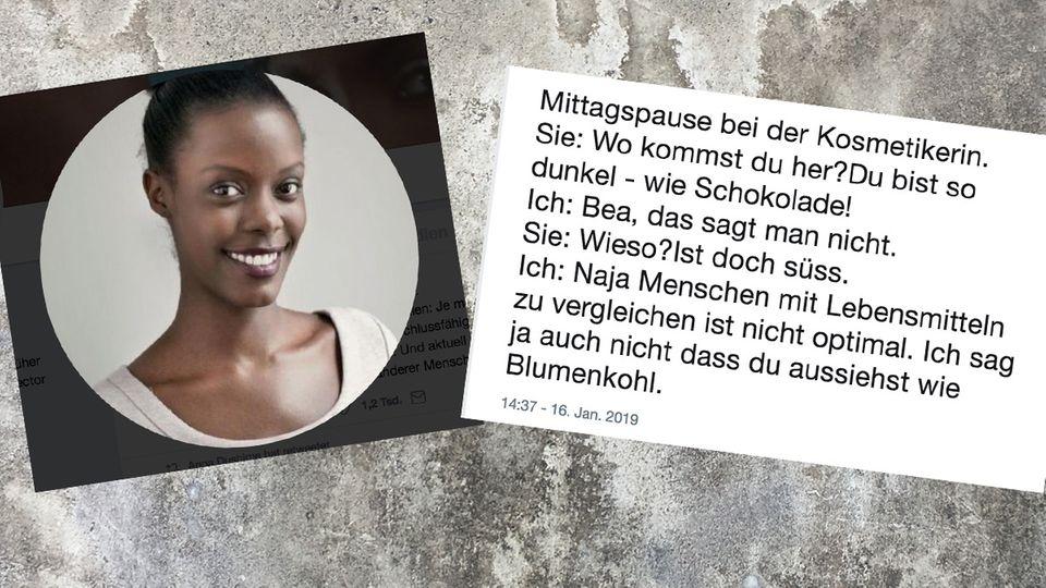 Anna Dushime auf Twitter