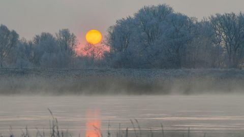 kälte - kältewelle - deutschland