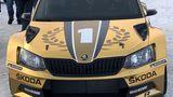 Skoda hatte den Rallye Champion dabei