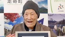 Ältester Mann der Welt ist tot: Masazo Nonaka