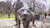 Bären-Denkmal in Edinburgh.