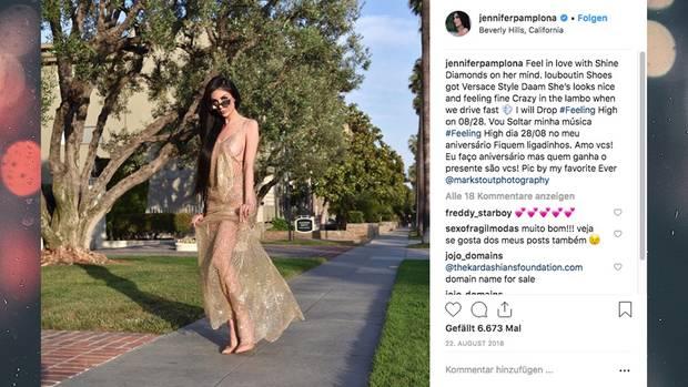 Jennifer Pamplona will aussehen wie Kim Kardashian