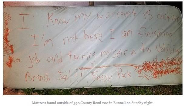 Florida: Mit dieser Nachricht wollte ein Flüchtiger die Polizei überlisten