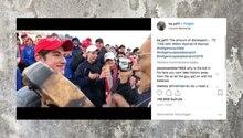Jugendliche Trump-Fans verspotten Ureinwohner, oder doch nicht?