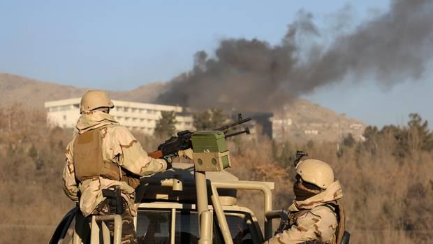 Kabul Intercontinental-Hotel Taliban