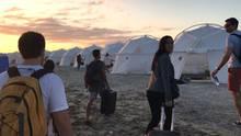 Szene aus der Doku zum Fyre-Festival auf Netflix